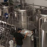 White Brick Brewing equipment.