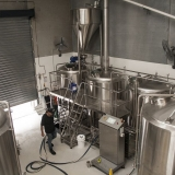Our beer brewing facility.
